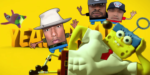 N.E.R.D.   Squeeze Me  from The Spongebob Movie  Sponge Out Of Water    YouTube