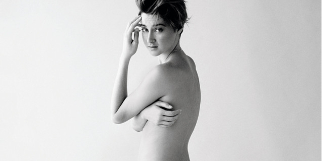 Shailene Woodley sexy per Glamour