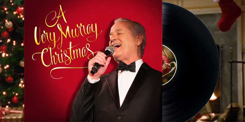 Miley Cirus e Bill Murray cantano nel nuovo trailer di A Very Murray Christmas