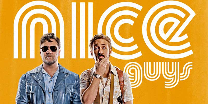 The Nice Guys – Red band trailer del film di Shane Black con Russell Crowe e Ryan Gosling