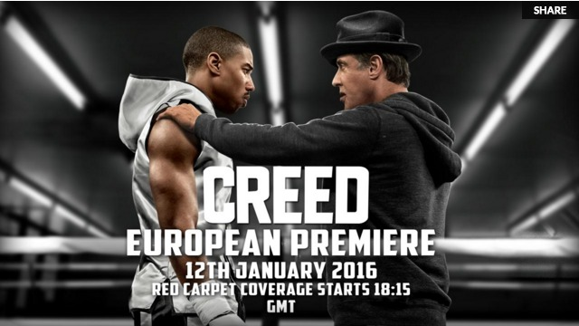 Watch the Creed London Premiere Live in Leicester Square