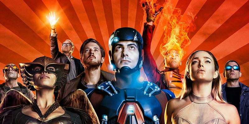 Legends of Tomorrow – I protagonisti in posa nel nuovo sizzle reel
