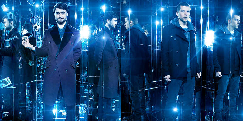Now You See Me 2 – Due nuovi poster con Daniel Radcliffe e Jesse Eisenberg