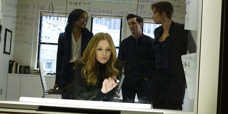 """THE CATCH - """"Pilot"""" - Alice Vaughan (Mireille Enos) is LA's top private investigator - and the one woman you don't want to mess with. But when her fiancé (Peter Krause) cons her out of millions and disappears, Alice goes on a private mission for payback. No matter where it leads or the secrets she must keep along the way, Alice will stop at nothing to catch her man. From the producers of """"Scandal,"""" """"Greys Anatomy"""" and """"How to Get Away with Murder,"""" """"The Catch"""" is a one-hour drama starring Mireille Enos, Peter Krause, Alimi Ballard, Jay Hayden, Jacky Ido, Rose Rollins, Elvy Yost and Sonya Walger. It is executive-produced by Shonda Rhimes, Betsy Beers, Allan Heinberg and Julie Anne Robinson. """"The Catch"""" premieres Thursday, March 24, 2016 at 10pm ET/PT on the ABC Television Network. (ABC/Richard Cartwright) ROSE ROLLINS, MIREILLE ENOS, JAY HAYDEN, ELVY YOST"""