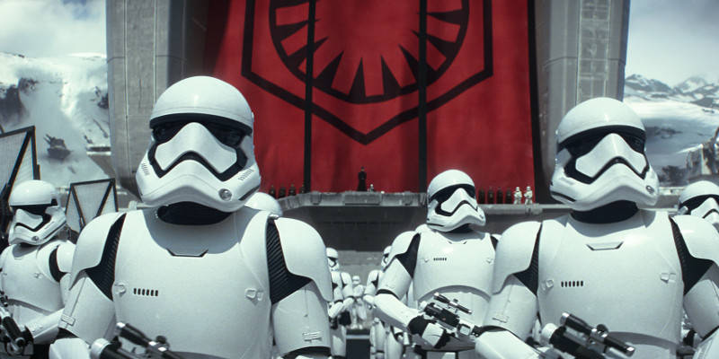 Per Rogue One: a Star Wars Story è stato registrato un nuovo Stormtrooper