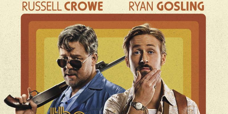 The Nice Guys: Russell Crowe & Ryan Gosling nelle nuove clip in italiano