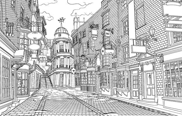 Magical-Places-and-Characters-Colouring-Book-02