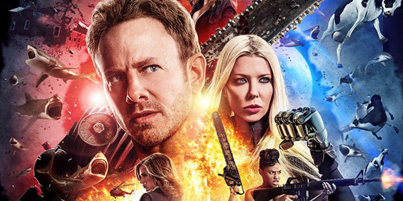 Anche il poster di Sharknado 4 celebra lo Star Wars Day!