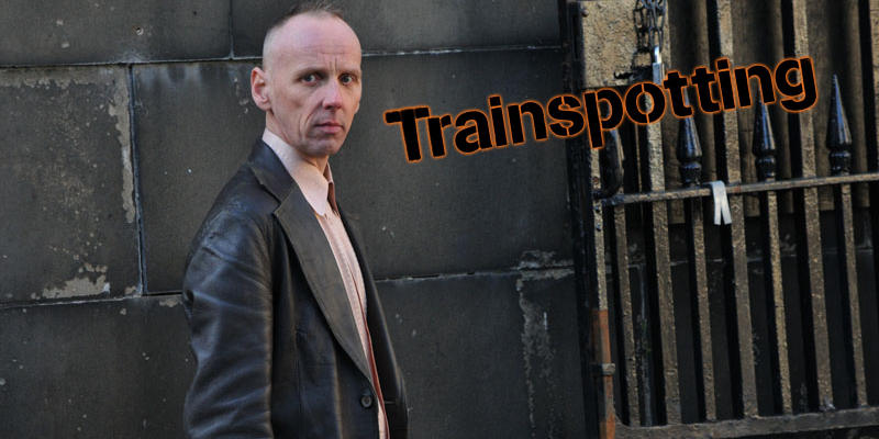 Spud e Sick Boy immortalati sul set di Trainspotting 2