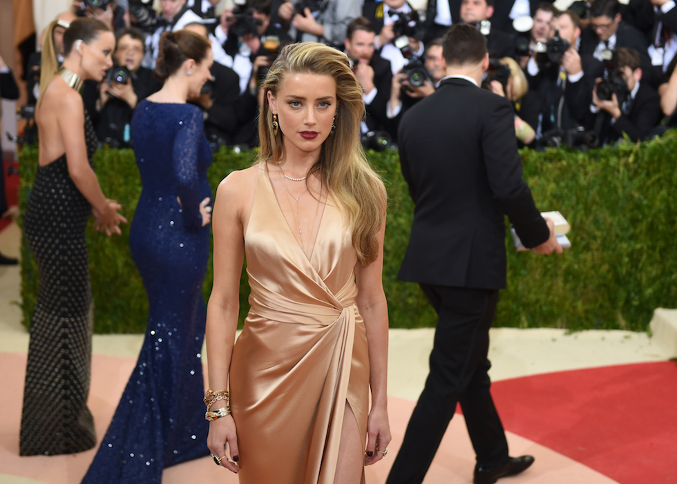 Amber Heard (TIMOTHY A. CLARY/AFP/Getty Images)