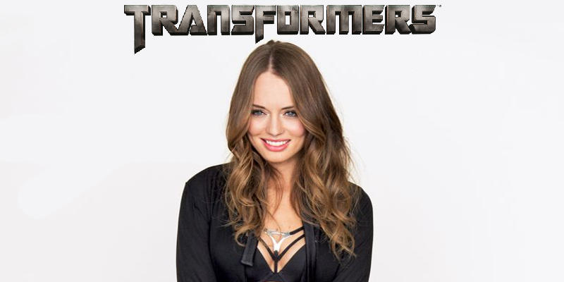 Laura Haddock da Guardiani della Galassia a Transformers: The Last Knight