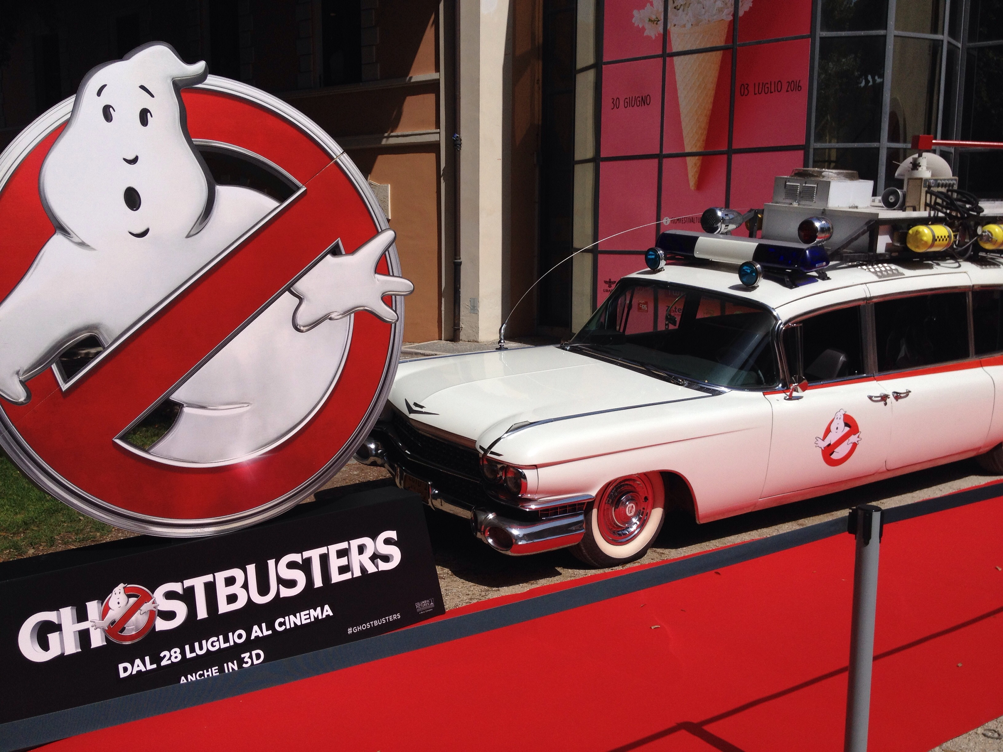 ghostbusters roma