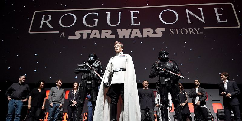 Rogue One svelato alla Star Wars Celebration (con sorpresa Darth Vader!)