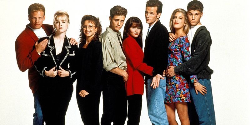 Beverly Hills 90210: la reunion del cast accanto a Shannen Doherty