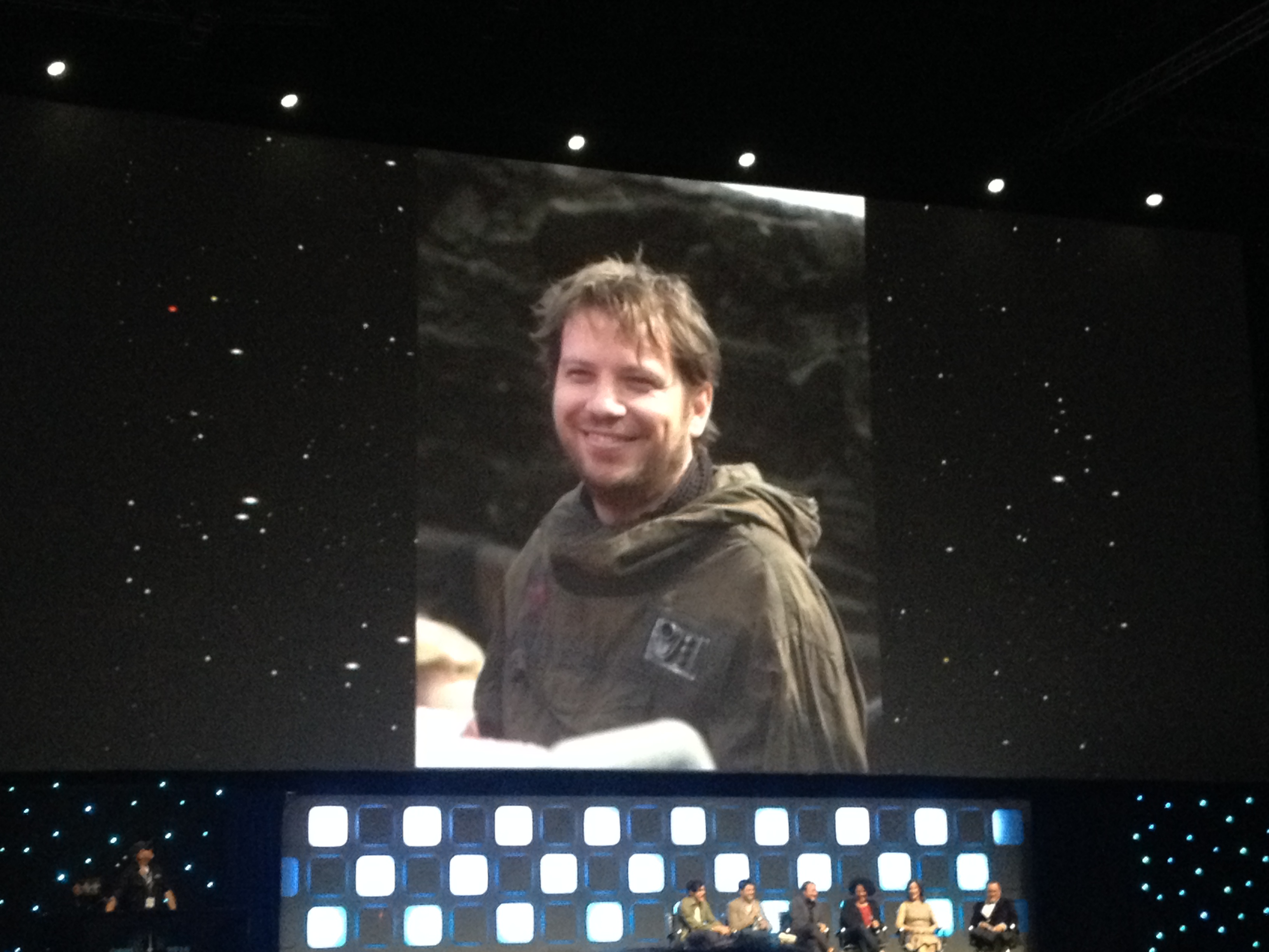 Star Wars Celebration Han Solo Movie 8