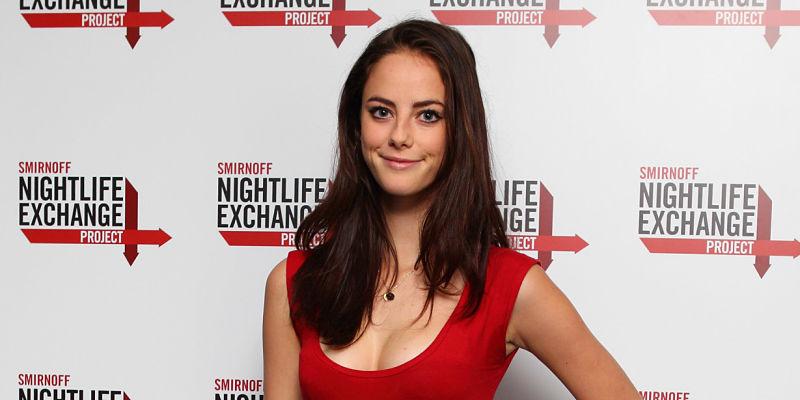LONDON, ENGLAND - NOVEMBER 12: Kaya Scodelario attends the Smirnoff Nightlife Exchange Project at Alexandra Palace on November 12, 2011 in London, England. (Photo by Mike Marsland/WireImage)