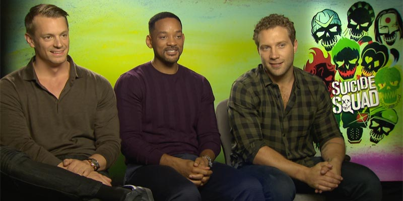 Suicide Squad – Will Smith, Joel Kinnaman e Jai Courtney: il nostro incontro