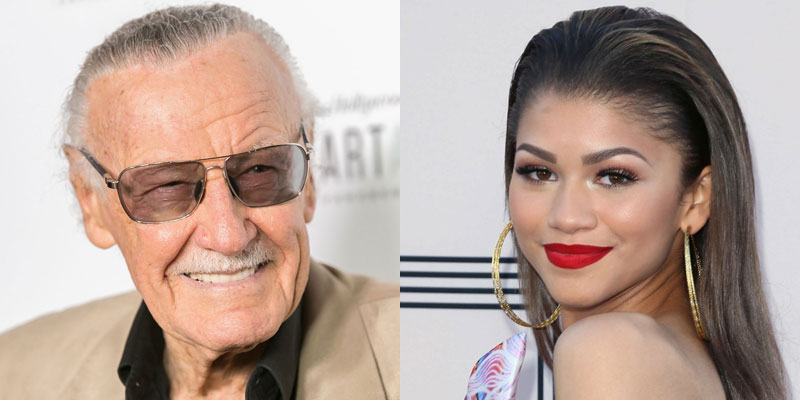 Spider-Man: Homecoming – Stan Lee supporta Zendaya come Mary Jane