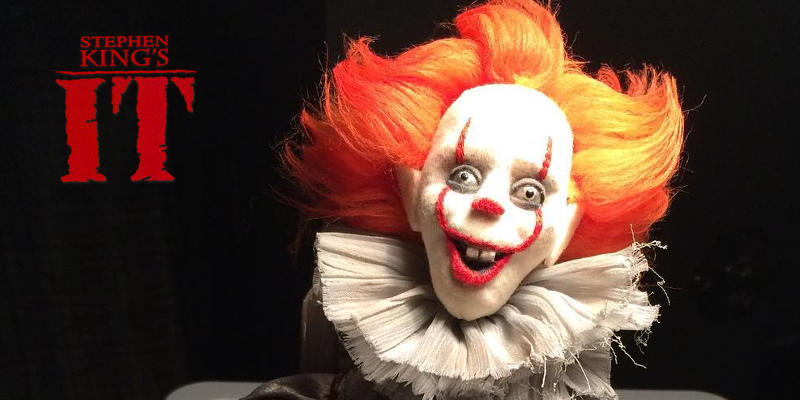 """Stephen King's IT – Riprese ultimate, ecco Pennywise versione """"Jack-in-the-box"""""""