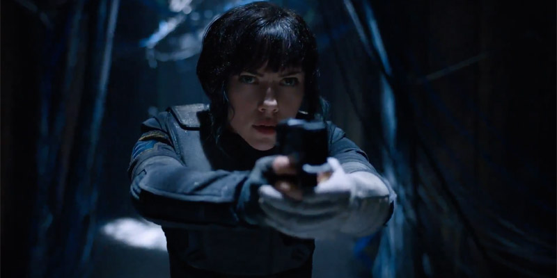 Ghost in the Shell – 5 enigmatici teaser con Scarlet Johansson