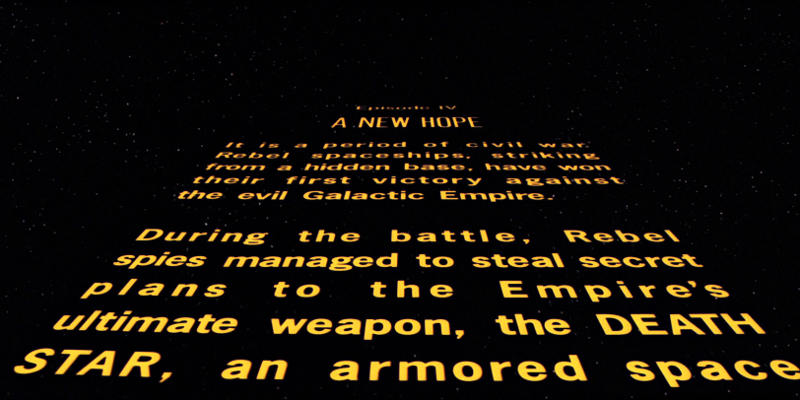 UFFICIALE: Niente Opening Crawl per Rogue One: A Star Wars Story