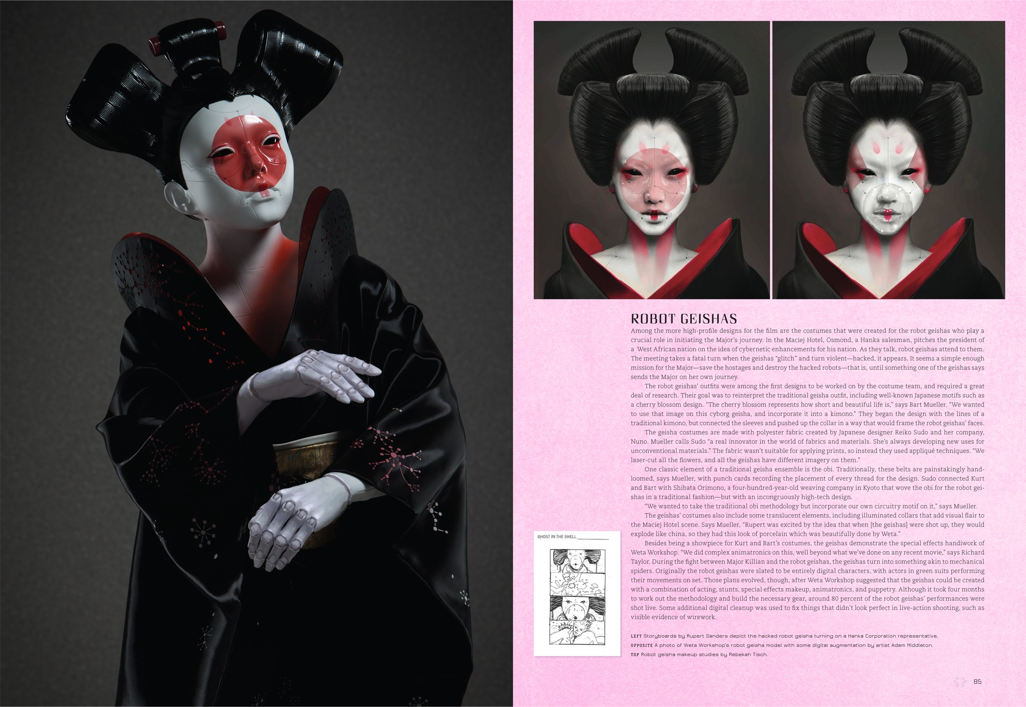 he Art of Ghost in the Shell 06