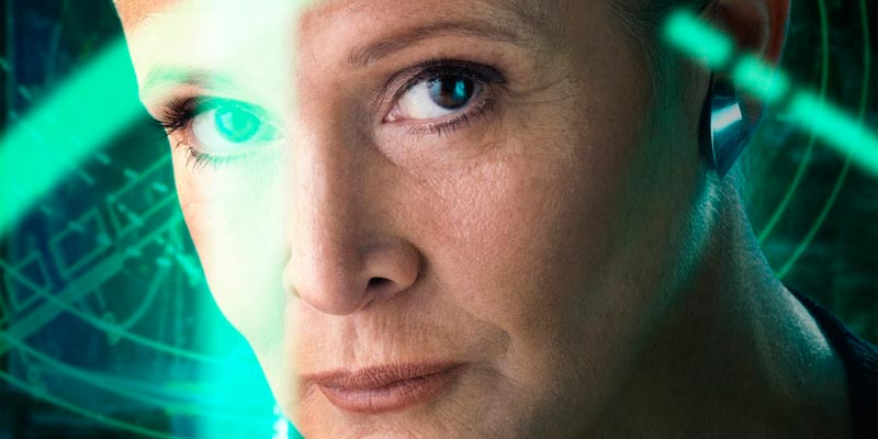 Carrie Fisher apparirà in Star Wars 9 (senza CGI)