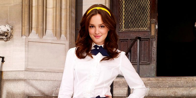Gossip Girl Pictured: Leighton Meester as Blair Photo Credit: Andrew Eccles / The CW © 2007 The CW Network, LLC. All Rights Reserved.
