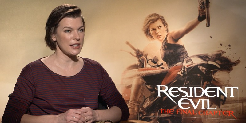 Resident Evil The Final Chapter Interview: The Final Chapter, Milla Jovovich Ci Parla