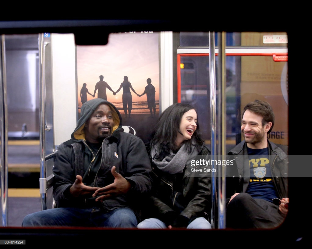 the-defenders-subway-laughing