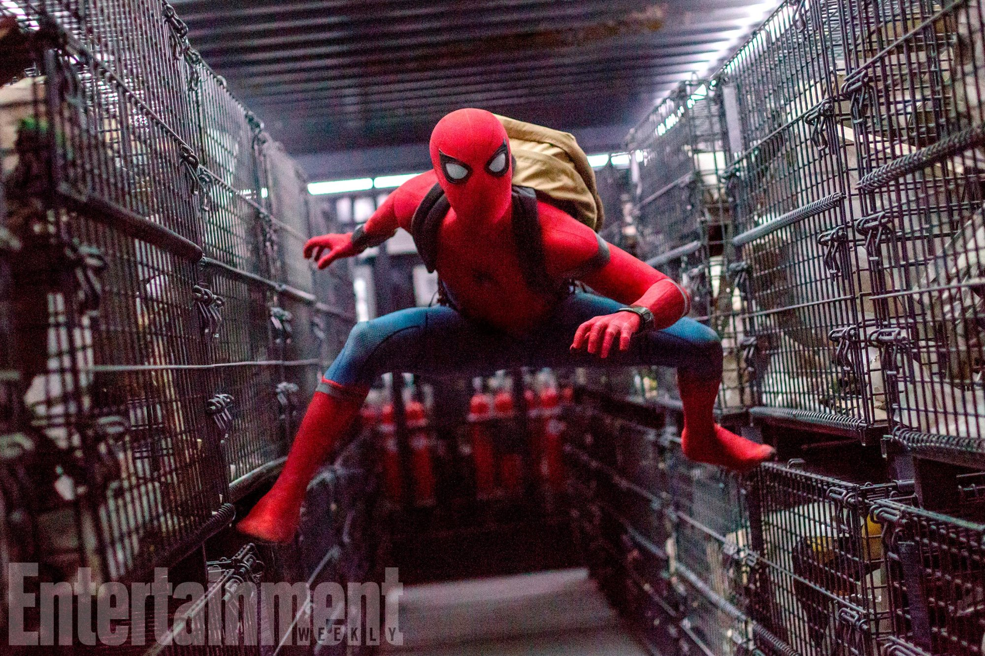 SPIDER-MAN: HOMECOMING (2017) Tom Holland