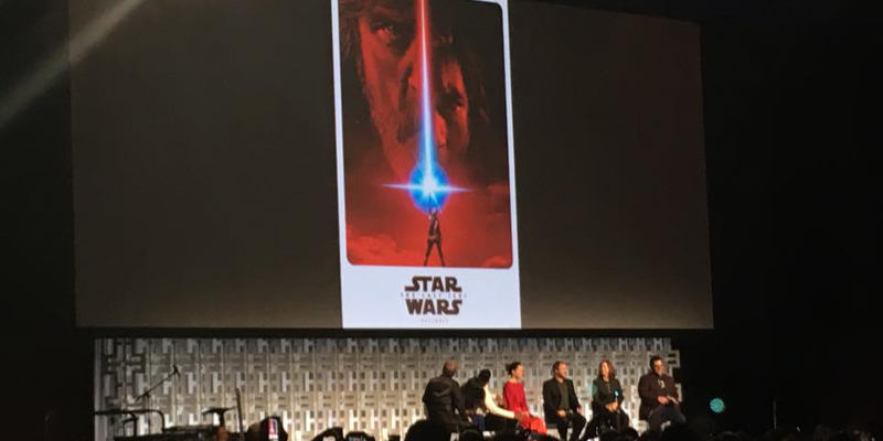 Star Wars: gli ultimi Jedi – il cast al panel della Celebration: foto e video