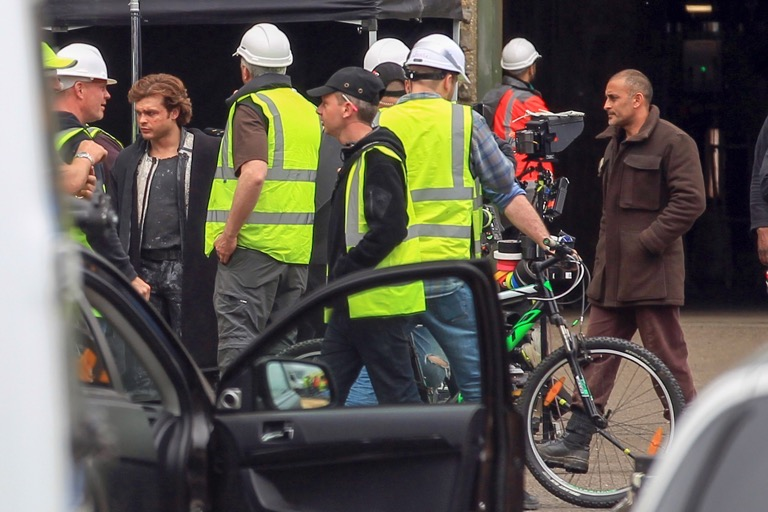 Alden Ehrenreich Seen for the First Time in Costume as Young Han Solo