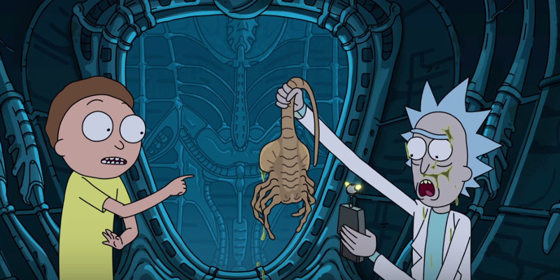 Alien  Covenant   Rick and Morty 02
