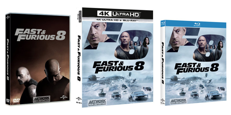 Fast & Furious 8 in Digital HD dal 9 agosto e in Blu-Ray e DVD dal 23!