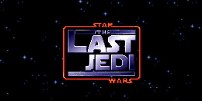 STAR WARS  THE LAST JEDI   8 Bit