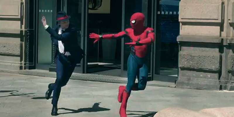 Avvistato Spider-Man a Milano! [Foto e Video]