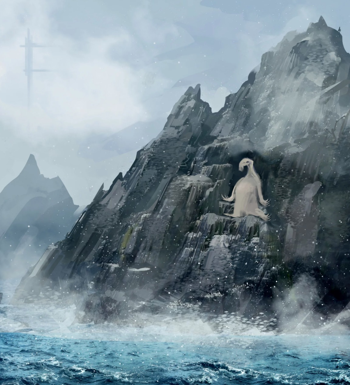 A Closer Look at the Ahch To Sea Creature from Star Wars  The Last Jedi