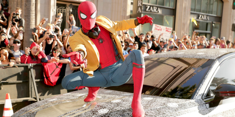 Spider-Man: Homecoming – Foto e video dalla Première di Los Angeles