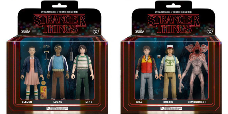 Stranger Things: le foto delle nuove action figures targate Funko