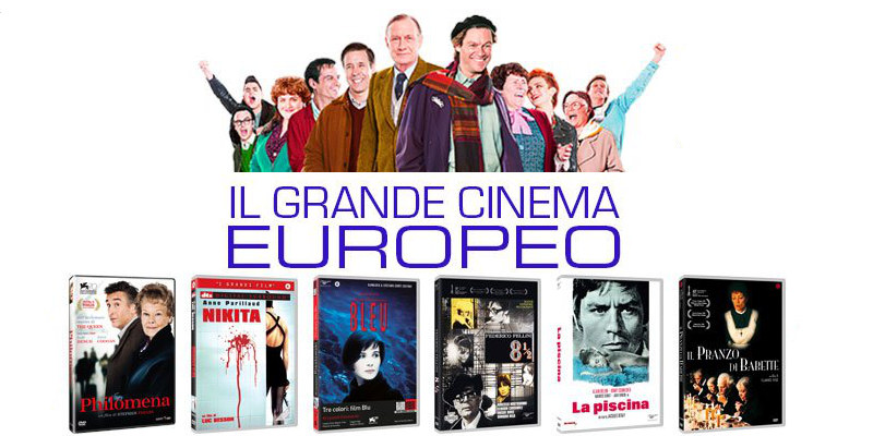 Il Grande Cinema Europeo in offerta su Amazon