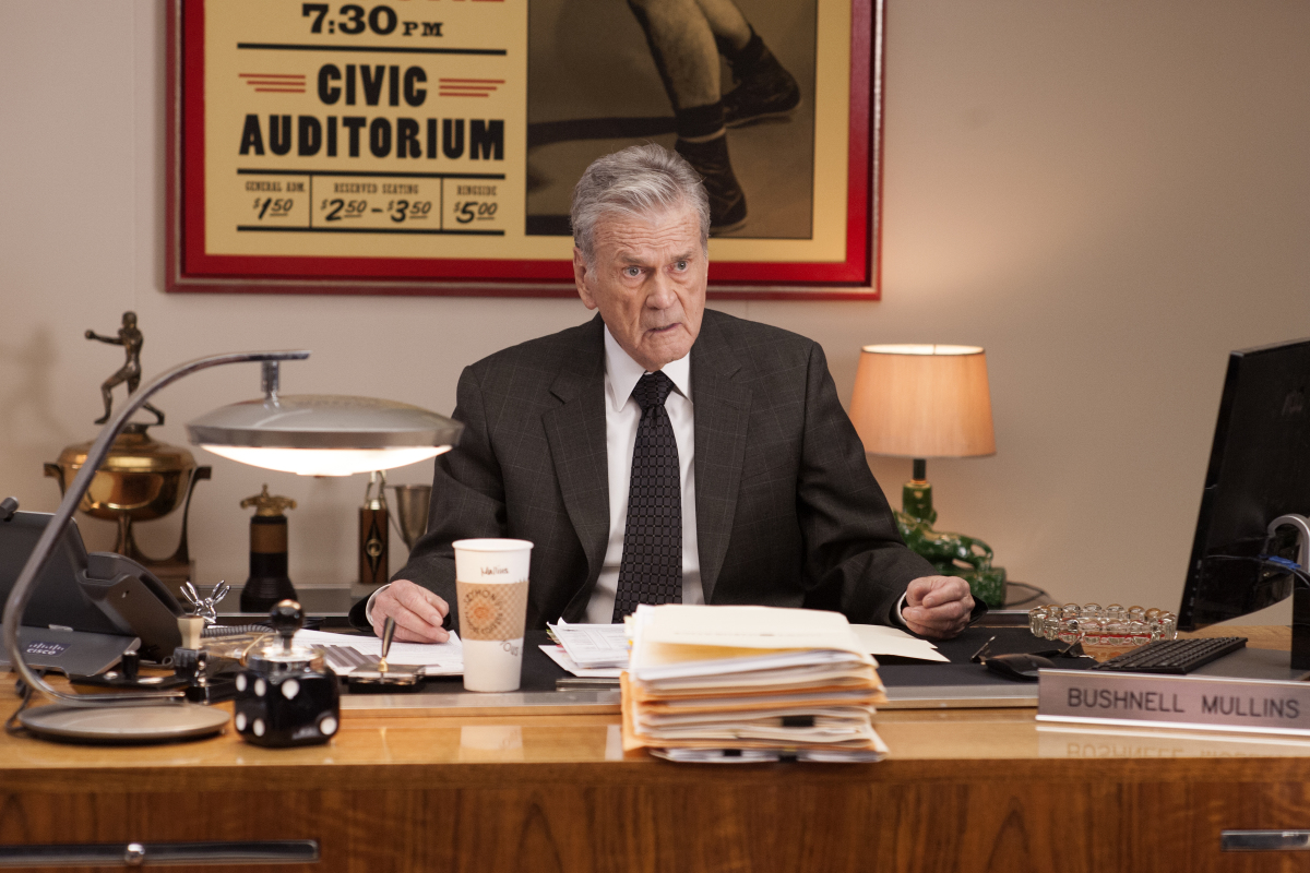 Don Murray in a still from Twin Peaks. Photo: Suzanne Tenner/SHOWTIME