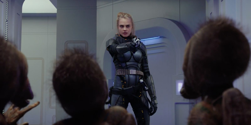 Valerian – Il video di I Feel Everything, cantata da Cara Delevingne