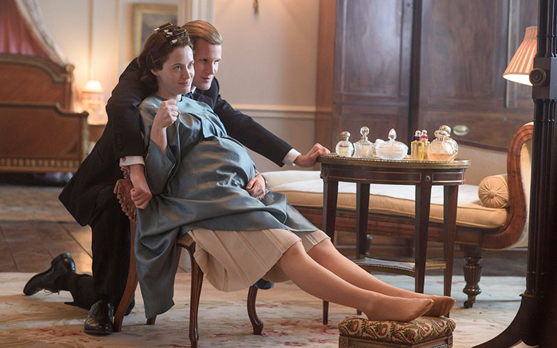 The-Queen-and-Duke-of-Edinburgh-Claire-Foy-and-Matt-Smith-The-Crown-season-2