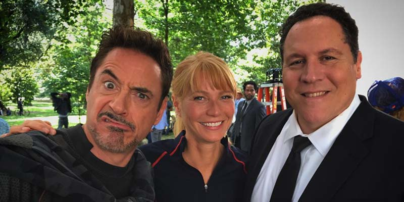 Avengers 4 – Gwyneth Paltrow sul set con Robert Downey Jr., Mark Ruffalo e Jon Favreau