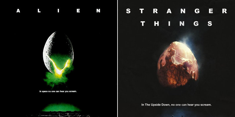 Stranger Things: un nuovo poster omaggia Alien