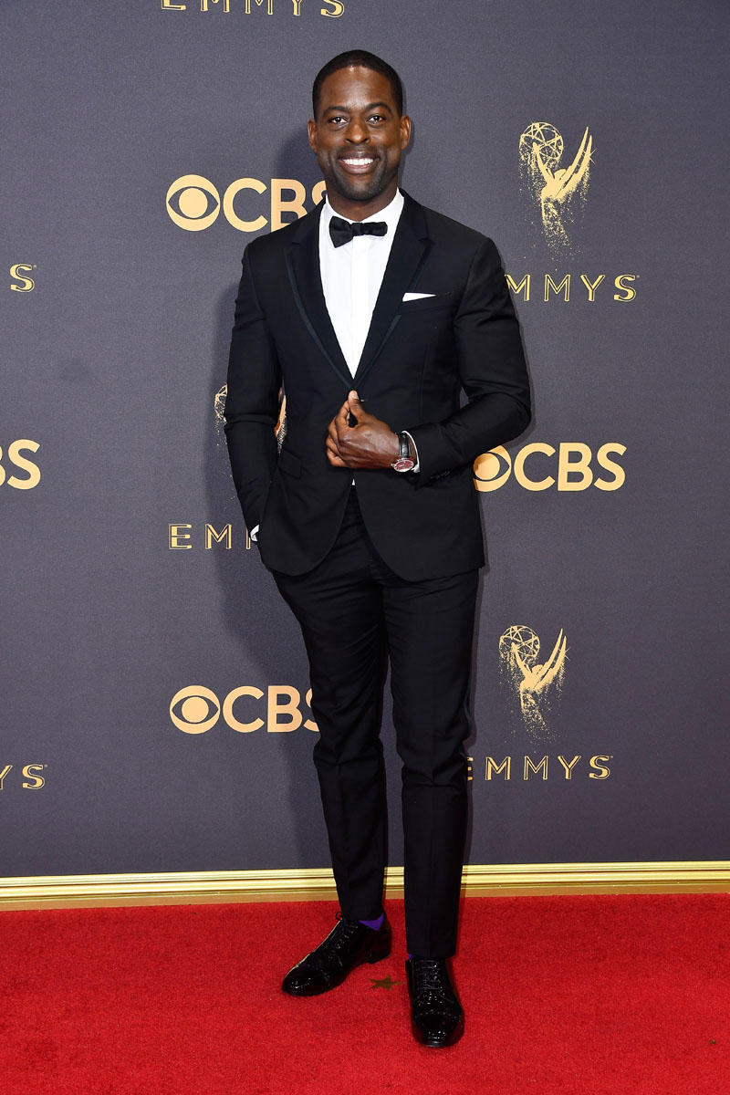 LOS ANGELES, CA - SEPTEMBER 17:  Sterling K. Brown attends the 69th Annual Primetime Emmy Awards at Microsoft Theater on September 17, 2017 in Los Angeles, California.  (Photo by Frazer Harrison/Getty Images)