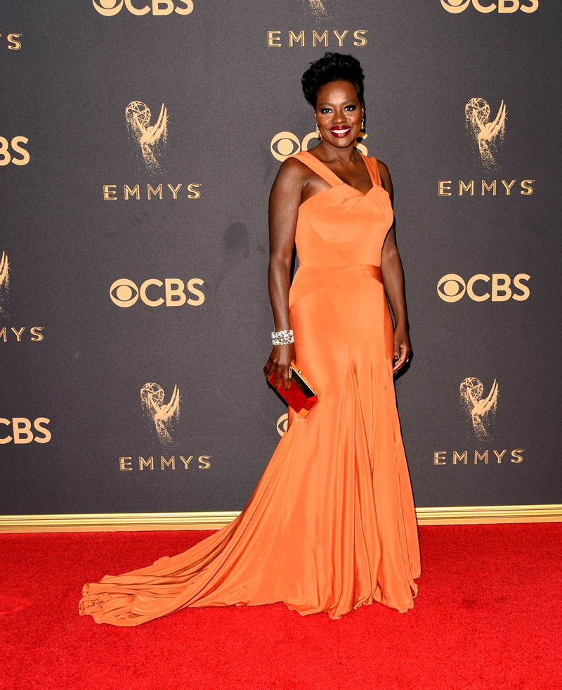 LOS ANGELES, CA - SEPTEMBER 17:  Actor Viola Davis attends the 69th Annual Primetime Emmy Awards at Microsoft Theater on September 17, 2017 in Los Angeles, California.  (Photo by J. Merritt/Getty Images)