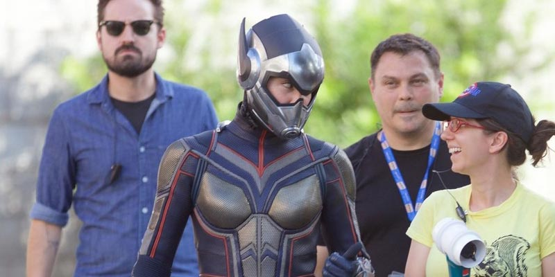 Ant-Man and the Wasp – Evangeline Lilly con il costume di Wasp nelle foto dal set