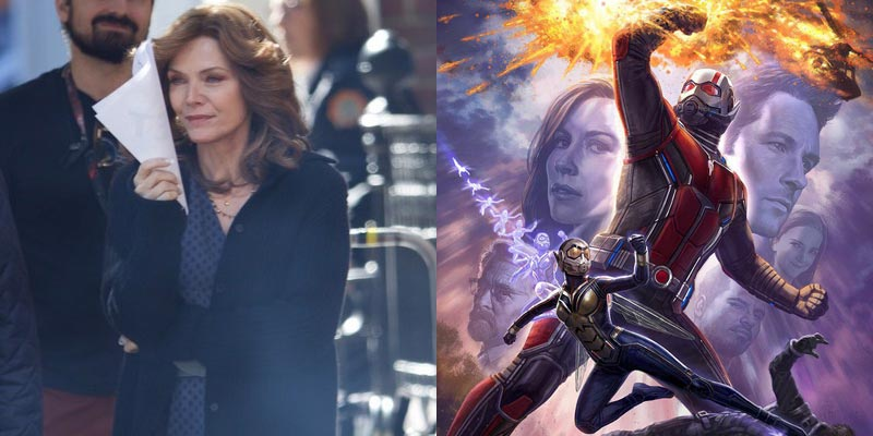 Ant-Man and the Wasp – Michelle Pfeiffer è Janet Van Dyne nelle foto dal set